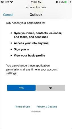 cài đặt email