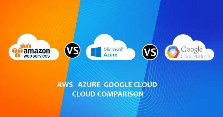 top 3 công ty điện toán đám mây