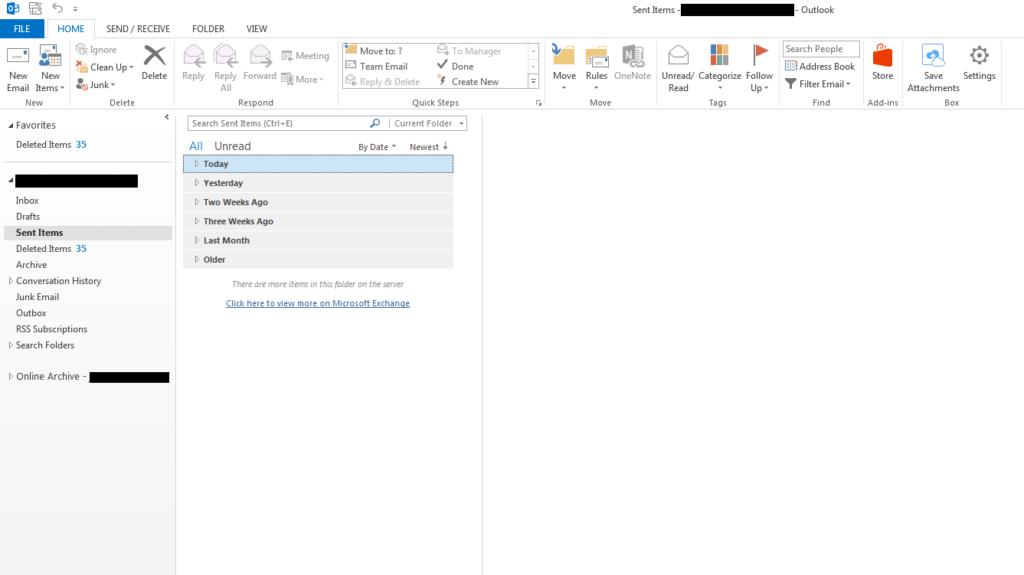 Thu hồi email đã gởi trong Outlook